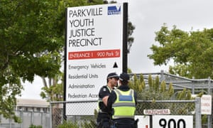 Parkville youth detention centre