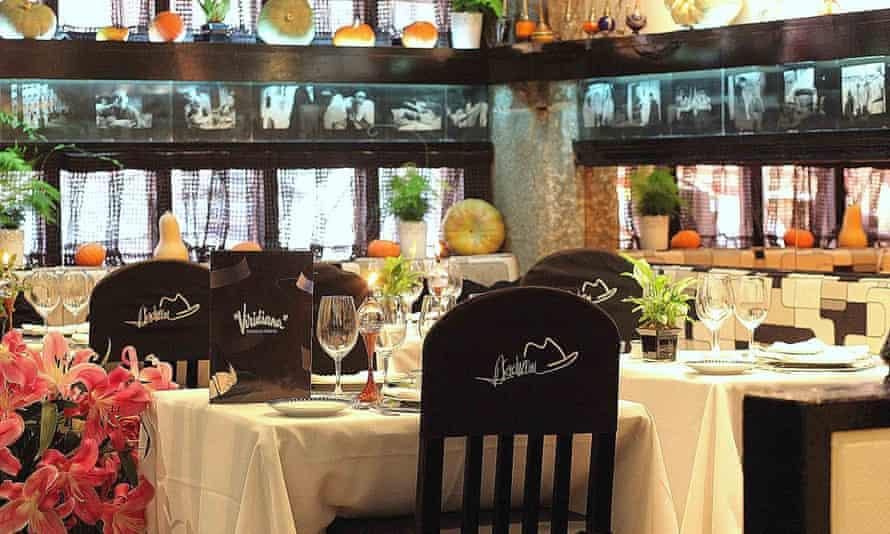 Viridiana is Almodóvar's favourite Madrid restaurant.