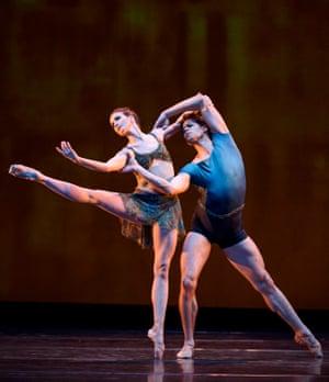 'Dreamy': Lauren Cuthbertson and Matthew Golding in Wheeldon's Within the Golden Hour.