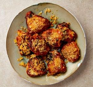 The finger-licker: Yotam Ottolenghi's 'fried' buttermilk chicken thighs.