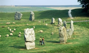 The Avebury stone circle was built between 2850-2200 BC during the Holocene flourish of culture.