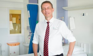 Matthew Hopkins, the chief executive of Barking, Havering and Redbridge NHS hospital trust.