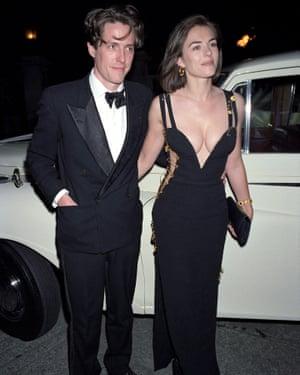 Elizabeth Hurley, wearing That Dress.