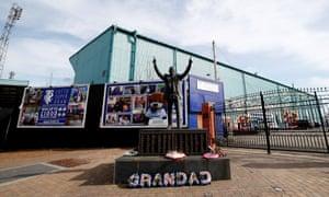 Prenton Park, home of Tranmere Rovers.