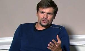 Salisbury poisoning suspect Ruslan Boshirov