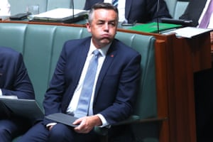 Minister for veterans affairs Darren Chester during question time