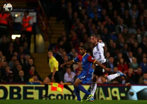 Pajtim Kasami's goal for Fulham brought the scores level at Selhurst Park against Crystal Palace – his side went on to win 4-1.