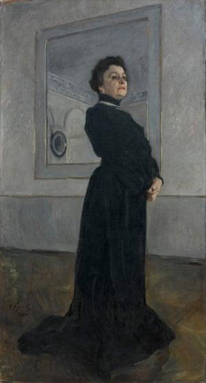 The actress Maria Ermolova, 1905 by Valentin Serov: 'a virtuoso performance'.