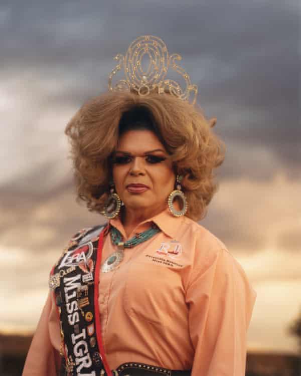 Queer rodeo royalty … Priscilla Toya Bouvier.