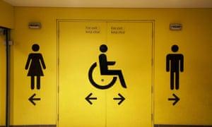 Lavatory signs