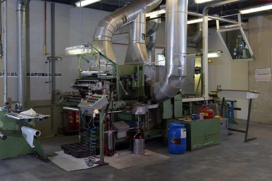 Inside the Enschede plant.