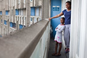 Del and Gabby from the series Lived Brutalism: photographs of residents of the Robin Hood Gardens housing estate by photographer Kois Miah
