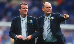 Graham Rix, left, and Gwyn Williams, pictured at the FA Cup final with Chelsea in 2000, have denied subjecting young players at the club to explicit racial abuse.