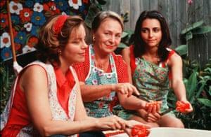 Greta Scacchi, Elena Cotta, and Pia Miranda as the three generations of Alibrandi women.