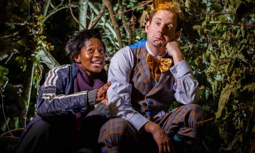 Kezrena James (Deylan) and David Emmings (Prince Percy) in Sleeping Beauty.