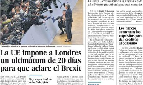 European media praise EU's plan to counter UK's Brexit 'chaos'