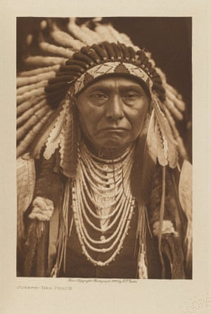 Chief Joseph of the Nez Percé. Pacific North West. One of the most iconic figures of the American Indian Wars.