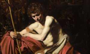 Caravaggio's Saint John the Baptist in the Wilderness.