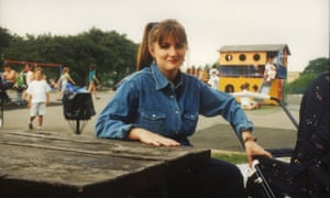 Caroline Aherne as schoolgirl Janine Carr in the Fast Show sketch Our Janine