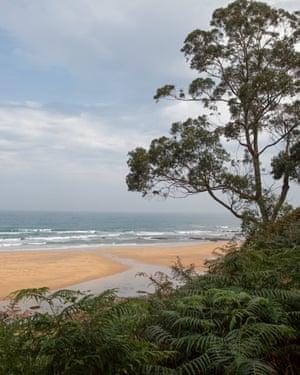 la griega beach and dinosaurs - Asturias region in Spain photographed for Tourism Asturias campaign