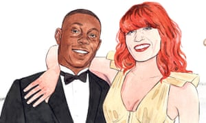 Dizzee Rascal and Florence Welch.