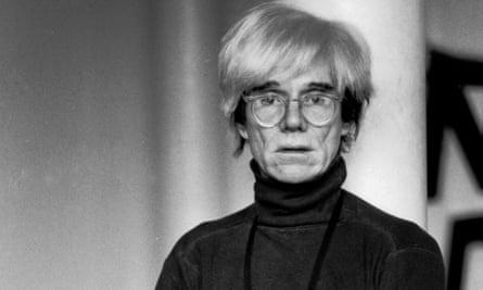 Andy Warhol in 1984.