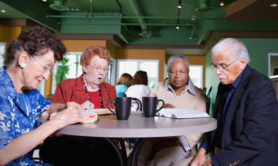 … a group of older readers.