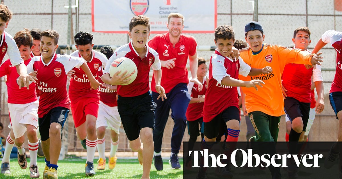 Per Mertesacker: 'It gives you the goose bumps ... on the pitch you see actual joy' | Football | The Guardian