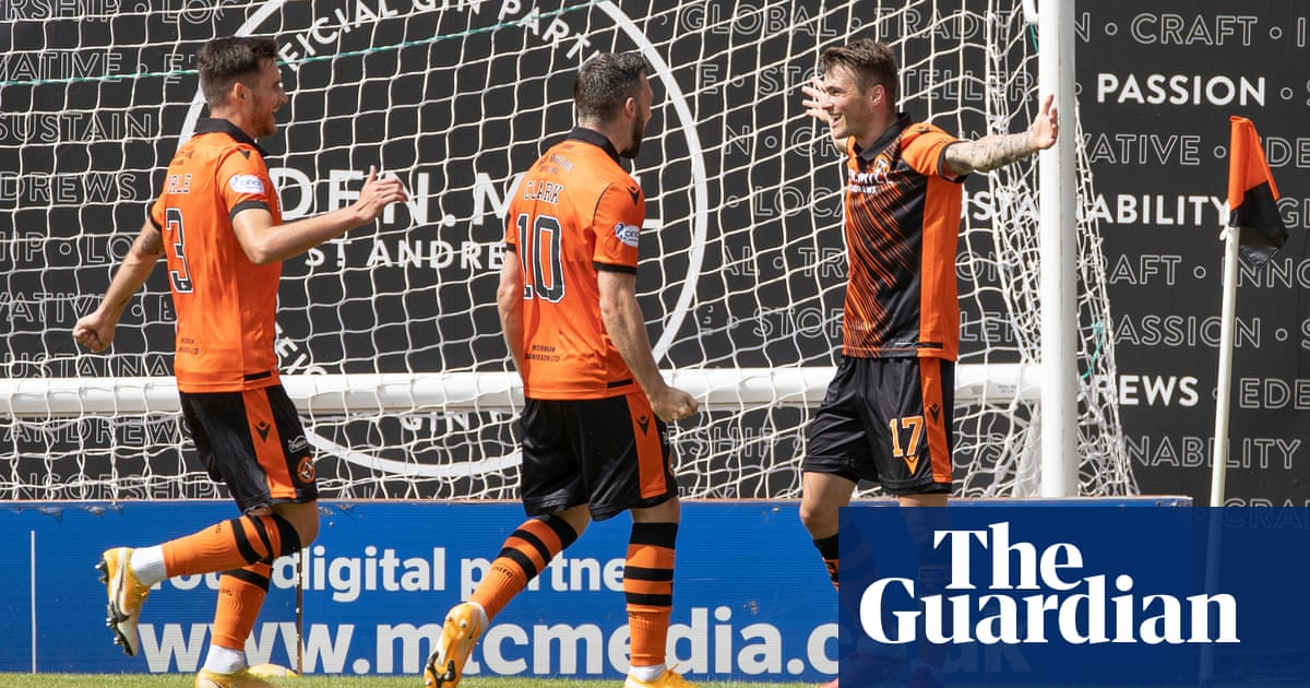 Jamie Robson's goal seals win for Dundee United over sluggish Rangers