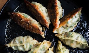 Packing a punch: prawn gyoza with ginger and lemongrass.