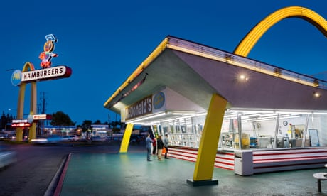 Fancy a drive-thru donut? The bright lights of LA car-food culture – in pictures