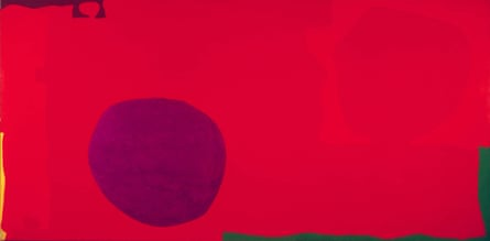 Cadmium With Violet, Scarlet, Emerald, Lemon and Venetian: 1969 by Patrick Heron.