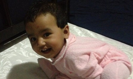 A Bangladeshi woman - whose 10-month-old baby is pictured - launched the legal challenge to prevent her return from Australia to Nauru.