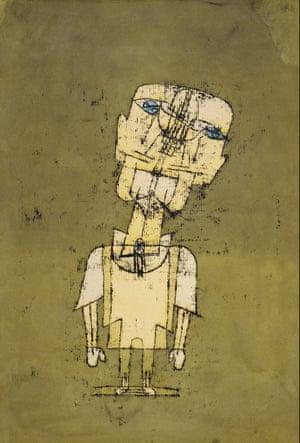Gespenst eines Genies (Ghost of a Genius) by Paul Klee