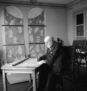 Henri Matisse at home, France - 21 May 1945