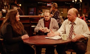 a barroom scene from horace and pete
