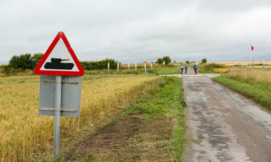 Watch out for the tanks on Salisbury Plain