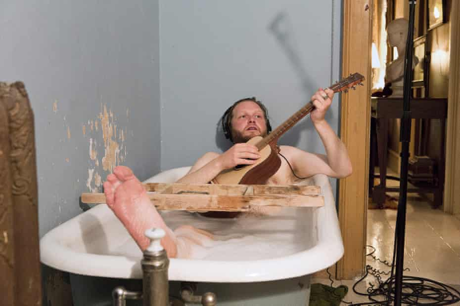 The fragility of friendship and love ... Ragnar Kjartansson in The Visitors (2012).