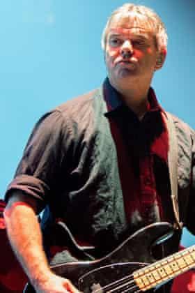 Jean-Jacques Burnel (bass) The Stranglers