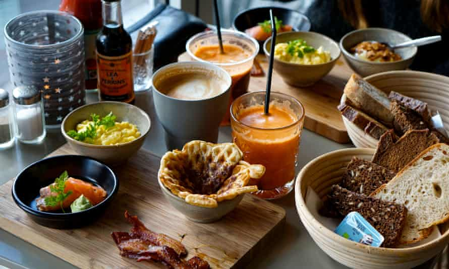 The mouth-watering brunch at Wulff & Konstali