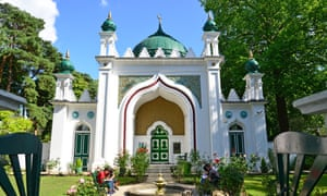The Shah Jahan mosque in Woking, Surrey.