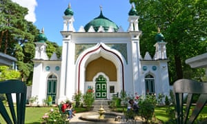 The 19th century Shah Jahan mosque in Woking.