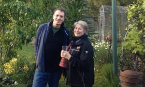Christine Kershaw and Paul Challen.