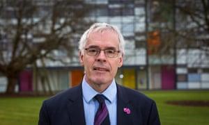 Head of the Open University, Peter Horrocks.