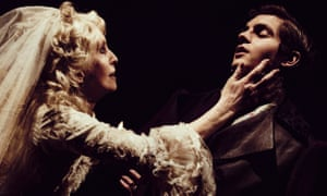 So desiccated it could crumble to the touch… Jane Asher as Miss Havisham and Daniel Boyd as Pip.