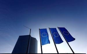 The European Central Bank (ECB) headquarters.