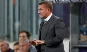 Brendan Rodgers was particularly encouraged by the professionalism Celtic showed in seeing out a huge victory against Anderlecht.