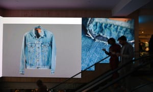 The new flagship store in New York. Levi's is growing its business among more fashion-forward retailers.