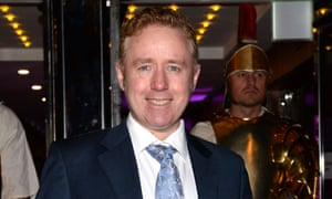 Mark Millar, pictured at Glasgow Film Festival last year, founded Millarworld in 2004.