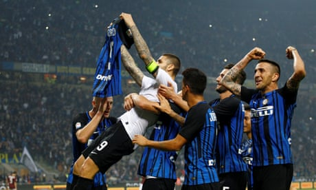 Last-minute penalty by Internazionale's Mauro Icardi settles Milan derby
